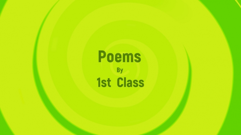Enjoy the 1st class poetry video below......